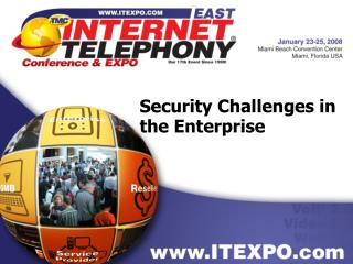 Security Challenges in the Enterprise