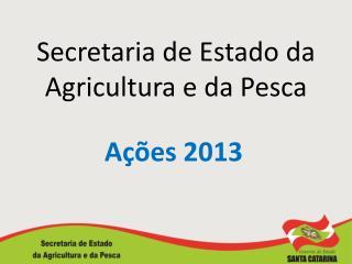 Secretaria de Estado da Agricultura e da Pesca