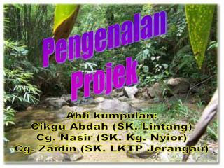 Pengenalan Projek