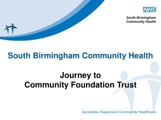 South Birmingham Community Health