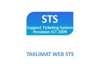 TAKLIMAT WEB STS