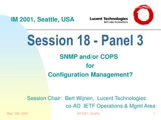 Session 18 - Panel 3