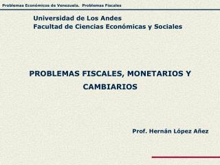 Prof. Hernán López Añez