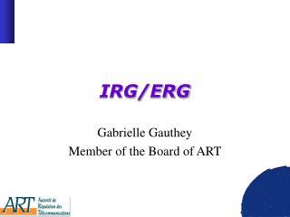 IRG/ERG