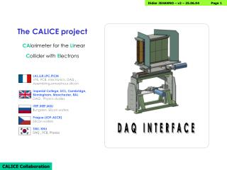 DAQ INTERFACE