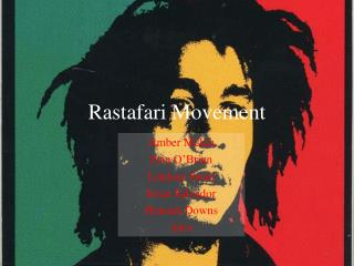 Rastafari Movement