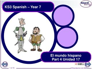 KS3 Spanish – Year 7