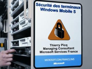 Sécurité des terminaux Windows Mobile 5