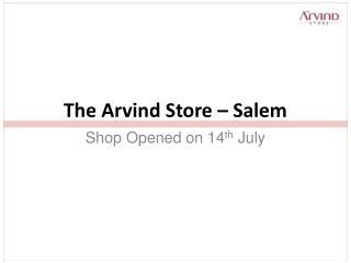 The Arvind Store – Salem