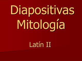 Diapositivas Mitología