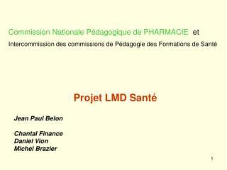 Projet LMD Santé