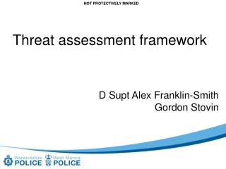 Threat assessment framework