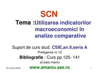 Suport de curs stud.  CSIE,an.II,seria A Prelegerea nr.12 Bibliografie  : Curs pp.12 5 - 1 41