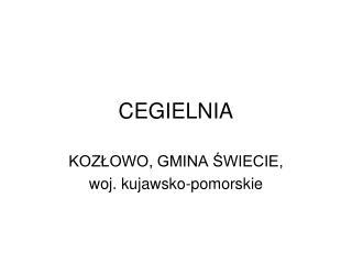 CEGIELNIA
