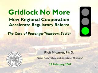 Gridlock No More How Regional Cooperation Accelerate Regulatory Reform