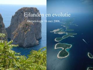 Eilanden en evolutie
