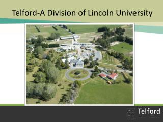 Telford-A Division of Lincoln University
