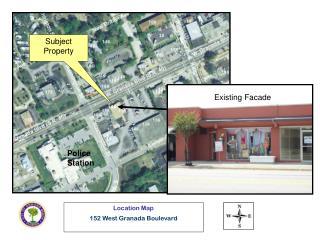 Location Map 152 West Granada Boulevard