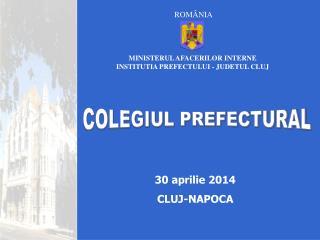 30 aprilie 2014 CLUJ-NAPOCA