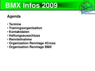 BMX Infos 2009