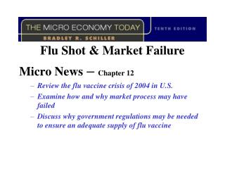 Flu Shot & Market Failure Micro News  –  Chapter 12