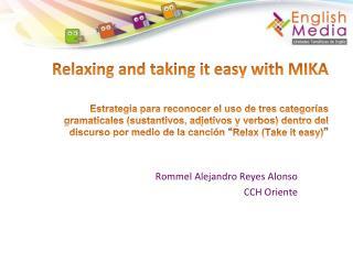 Rommel Alejandro Reyes Alonso CCH Oriente
