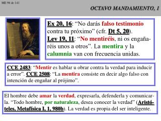OCTAVO MANDAMIENTO, 1