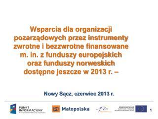 Nowy Sącz, czerwiec 2013 r.