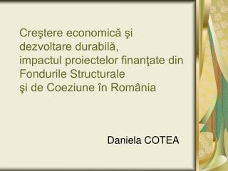 Daniela COTEA