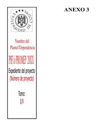 Nombre del  Plantel/Dependencia