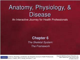 Chapter 6 The Skeletal System: The Framework