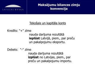 Maksājumu bilances zīmju konvencija