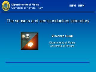 Vincenzo Guidi Dipartimento di Fisica Università di Ferrara
