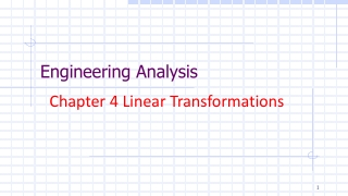 Chapter 4    Linear Transformations
