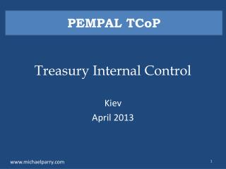 Treasury Internal Control