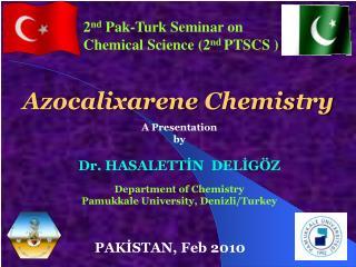 Azocalixarene Chemistry