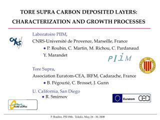 Laboratoire PIIM ,  CNRS-Université de Provence, Marseille, France