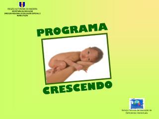 PROGRAMA  CRESCENDO