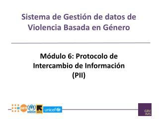 Sistema  de  Gestión  de  datos  de  Violencia Basada  en  Género