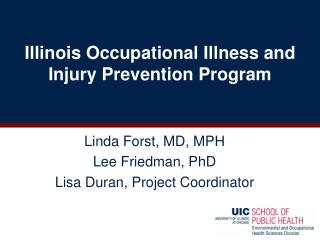 Illinois Occupational Illness and Injury Prevention Program