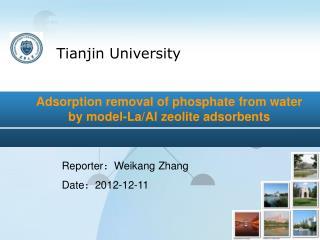 Reporter : Weikang Zhang Date : 2012-12-11