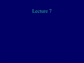 Lecture 18 - Numerical Differentiation