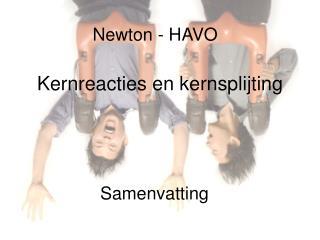Newton - HAVO