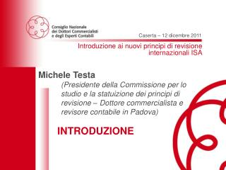 Introduzione ai nuovi principi di revisione internazionali ISA
