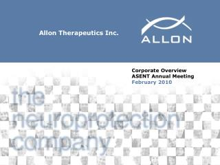 Allon Therapeutics Inc.