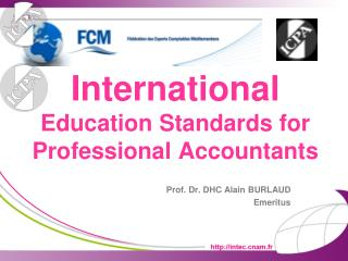 International  Education Standards for Professional Accountants