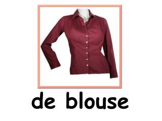 de blouse