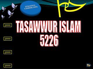 TASAWWUR ISLAM  5226
