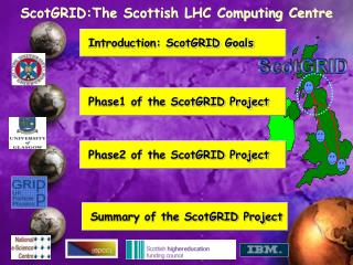 ScotGRID:The Scottish LHC Computing Centre
