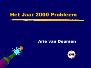 Het Jaar 2000 Probleem